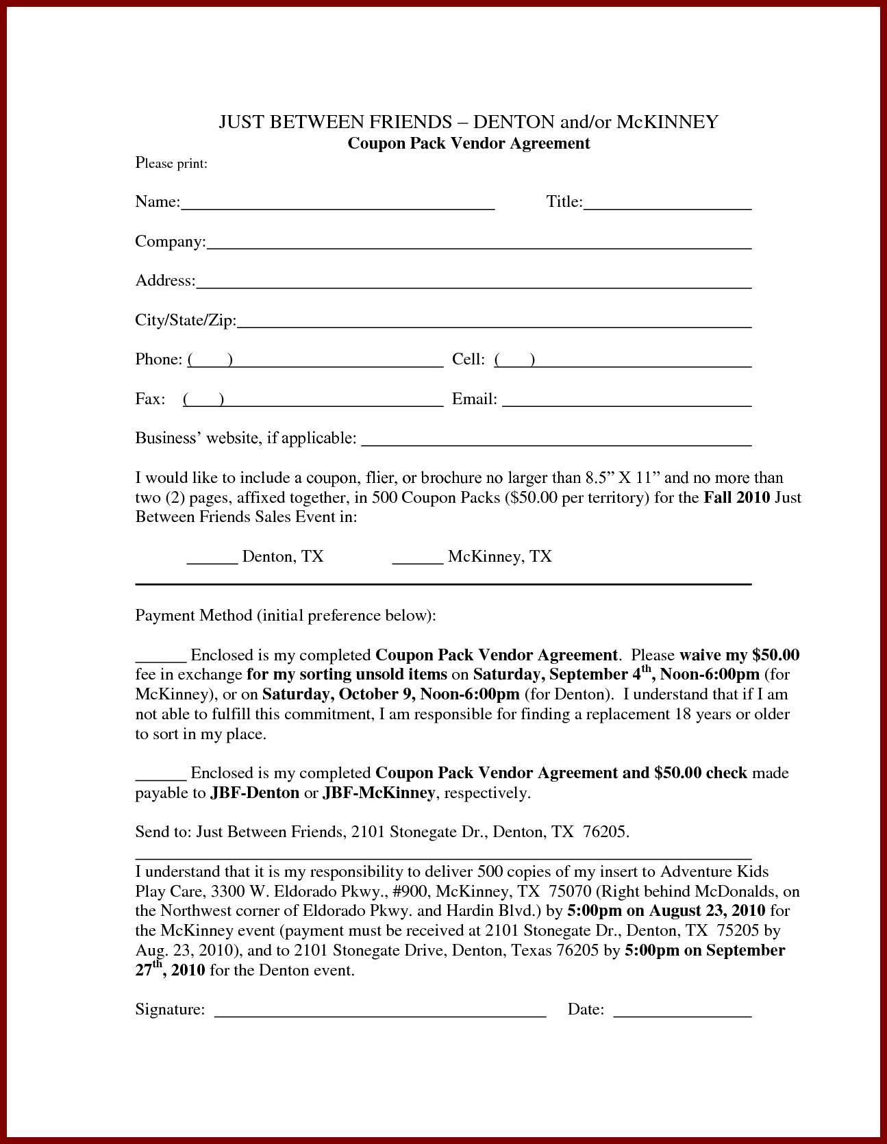 Loan Contract Template Pdf