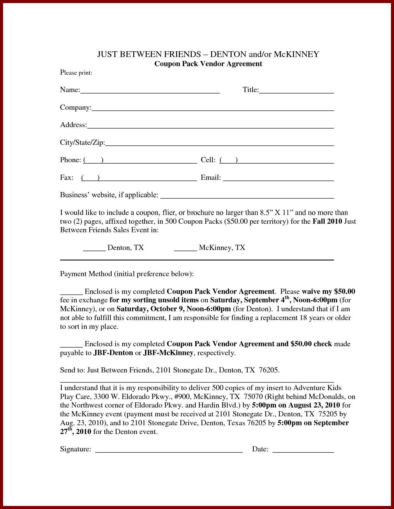 Loan Contract Template Pdf
