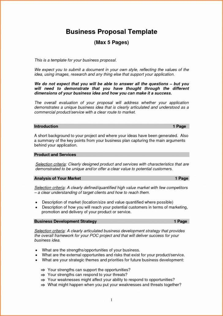 Loan Proposal Template Pdf