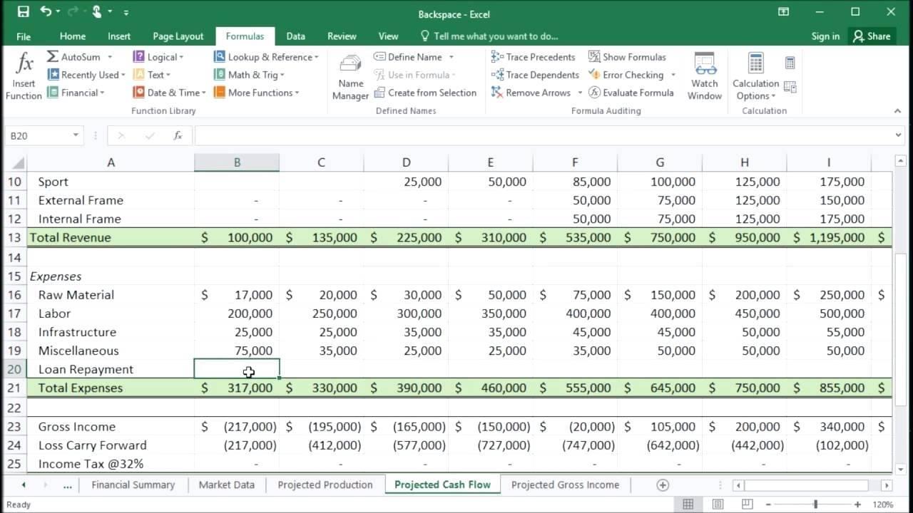 Loan Repayment Calculator Template