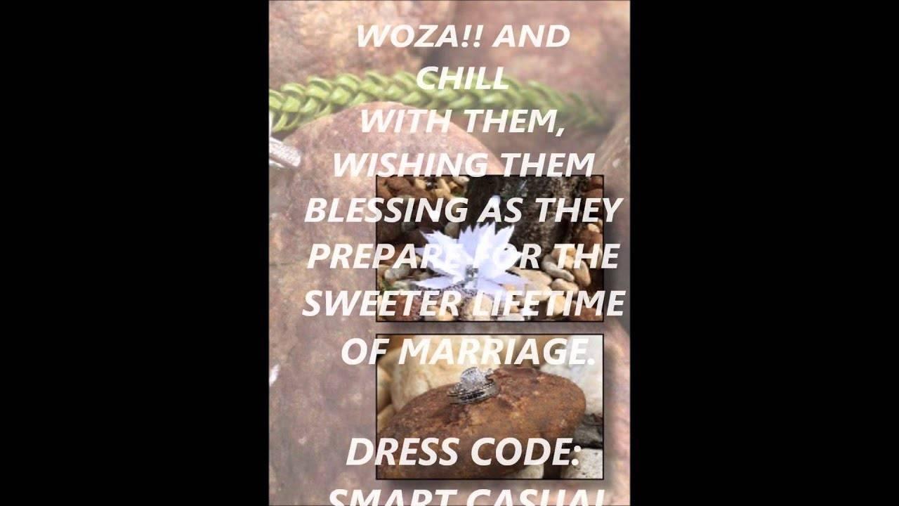 Lobola Celebration Invitation Template