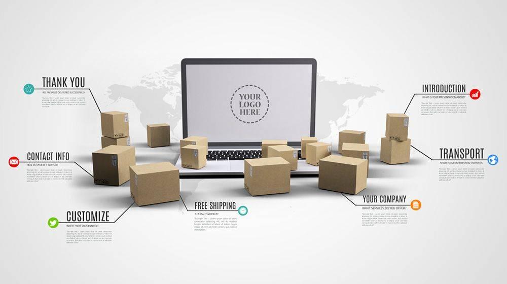 Logistics Sales Presentation Templates