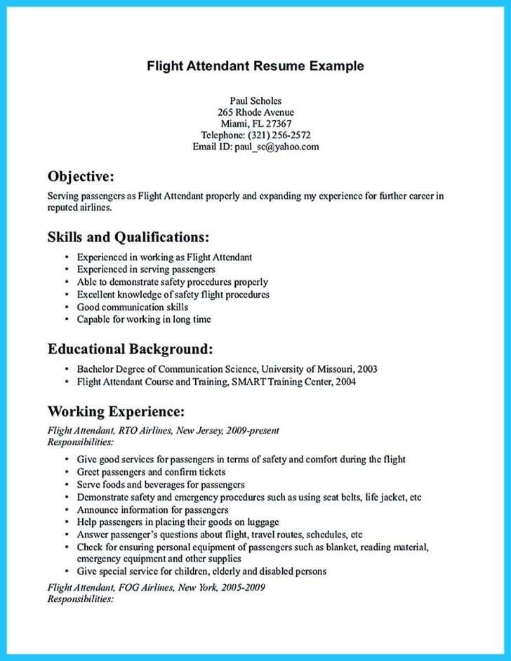 Low Time Pilot Resume Template