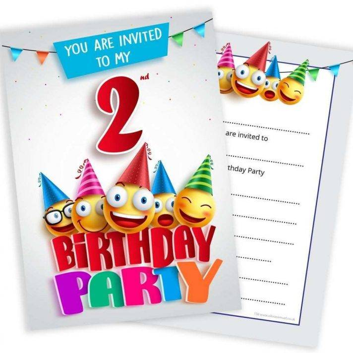 Luau Party Invitation Template