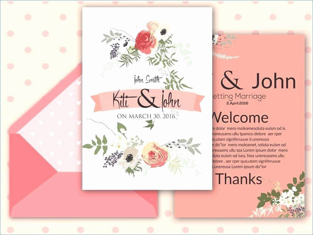 Lunch Invitation Card Template