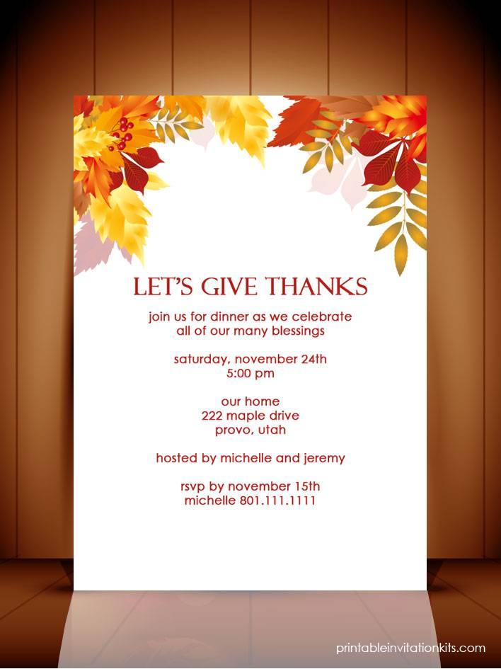 Lunch Invitation Templates Free