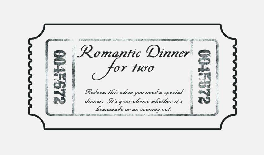 Lunch Ticket Printable