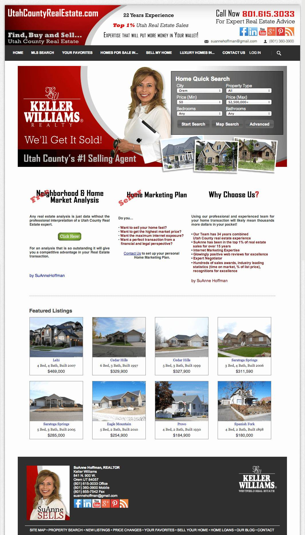 Luxury Homes Website Templates