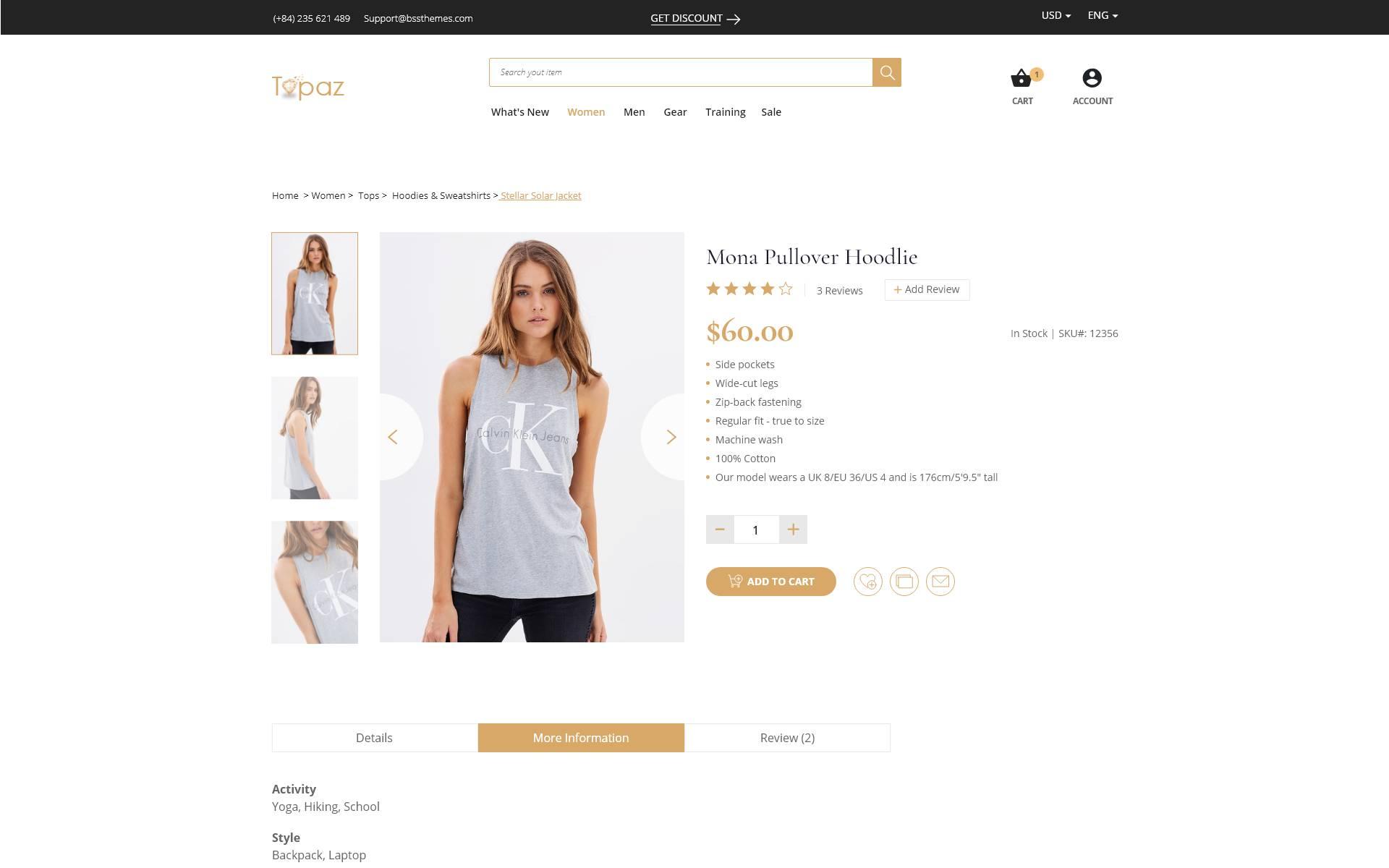 Luxury Jewelry Website Templates