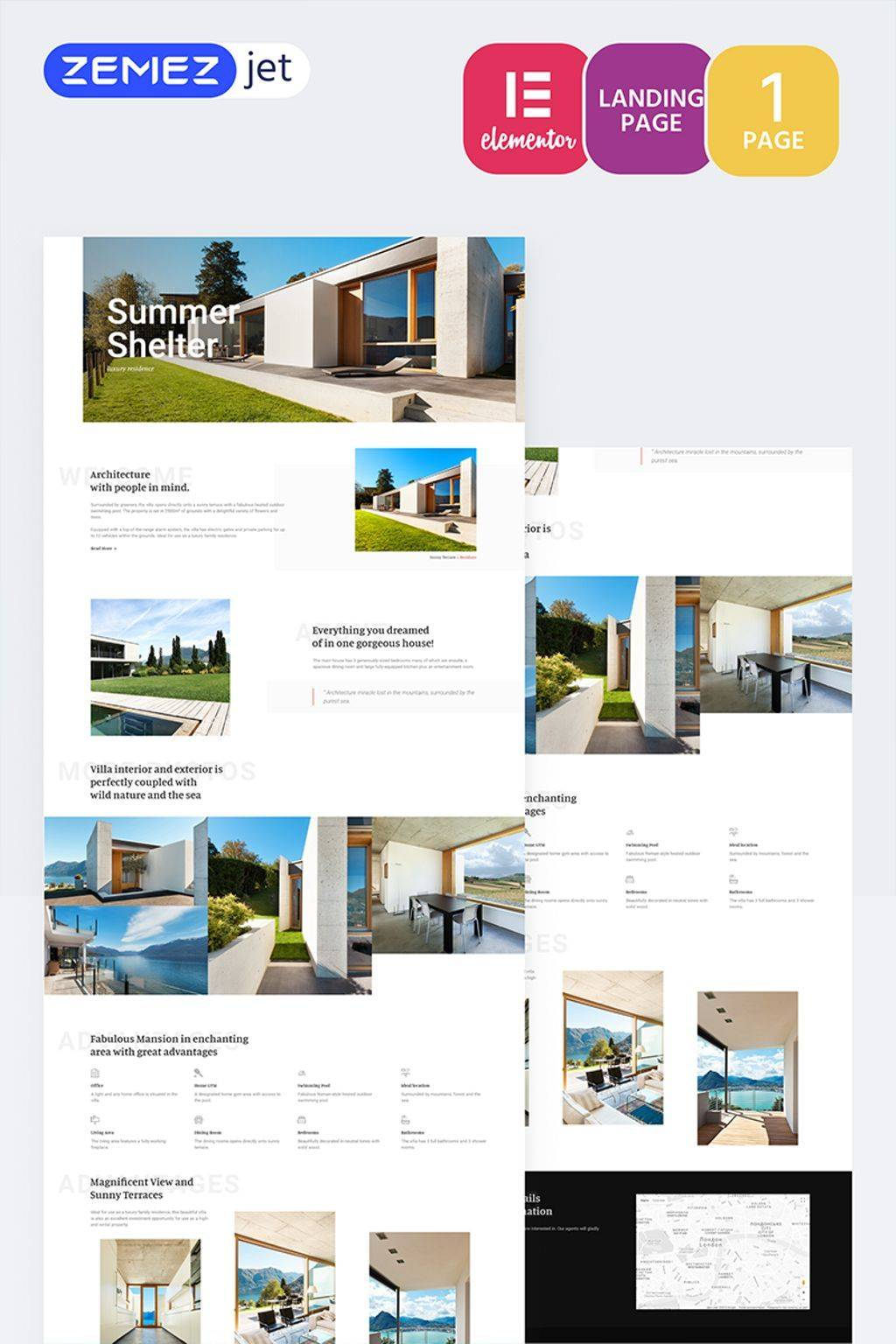 Luxury Real Estate Website Templates
