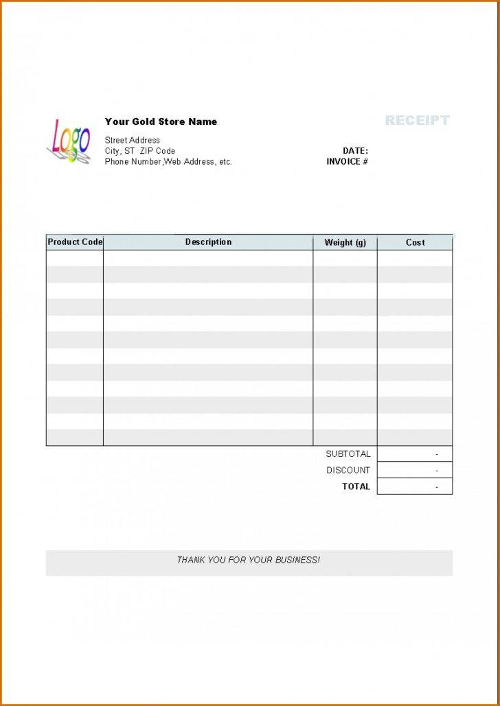 Mac Pages Invoice Templates