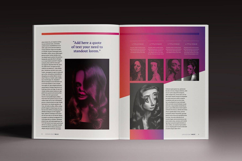Magazine Template Indesign Cc