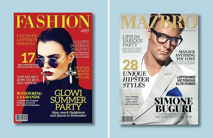 Magazine Templates For Adobe Indesign