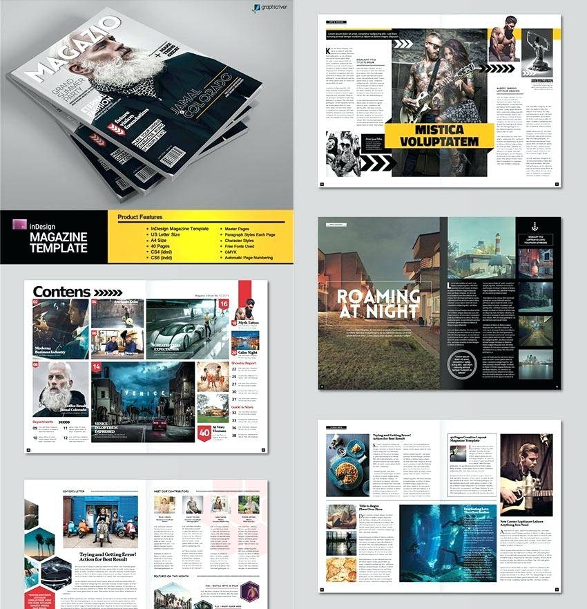 Magazine Templates For Indesign Free Download