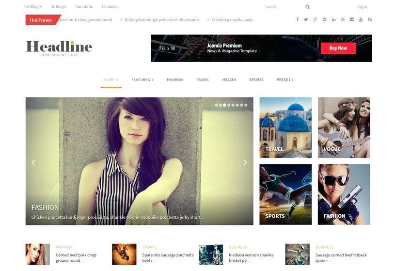 Magazine Templates WordPress Free