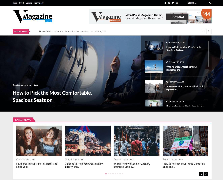 Magazine Templates WordPress