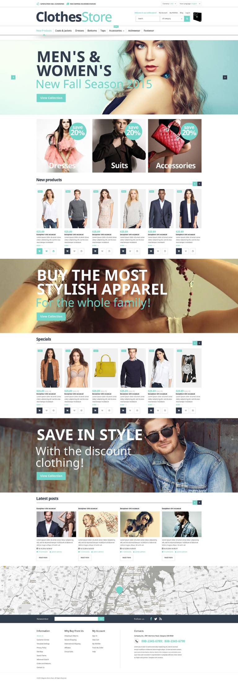 Magento 1.9 Responsive Template Free