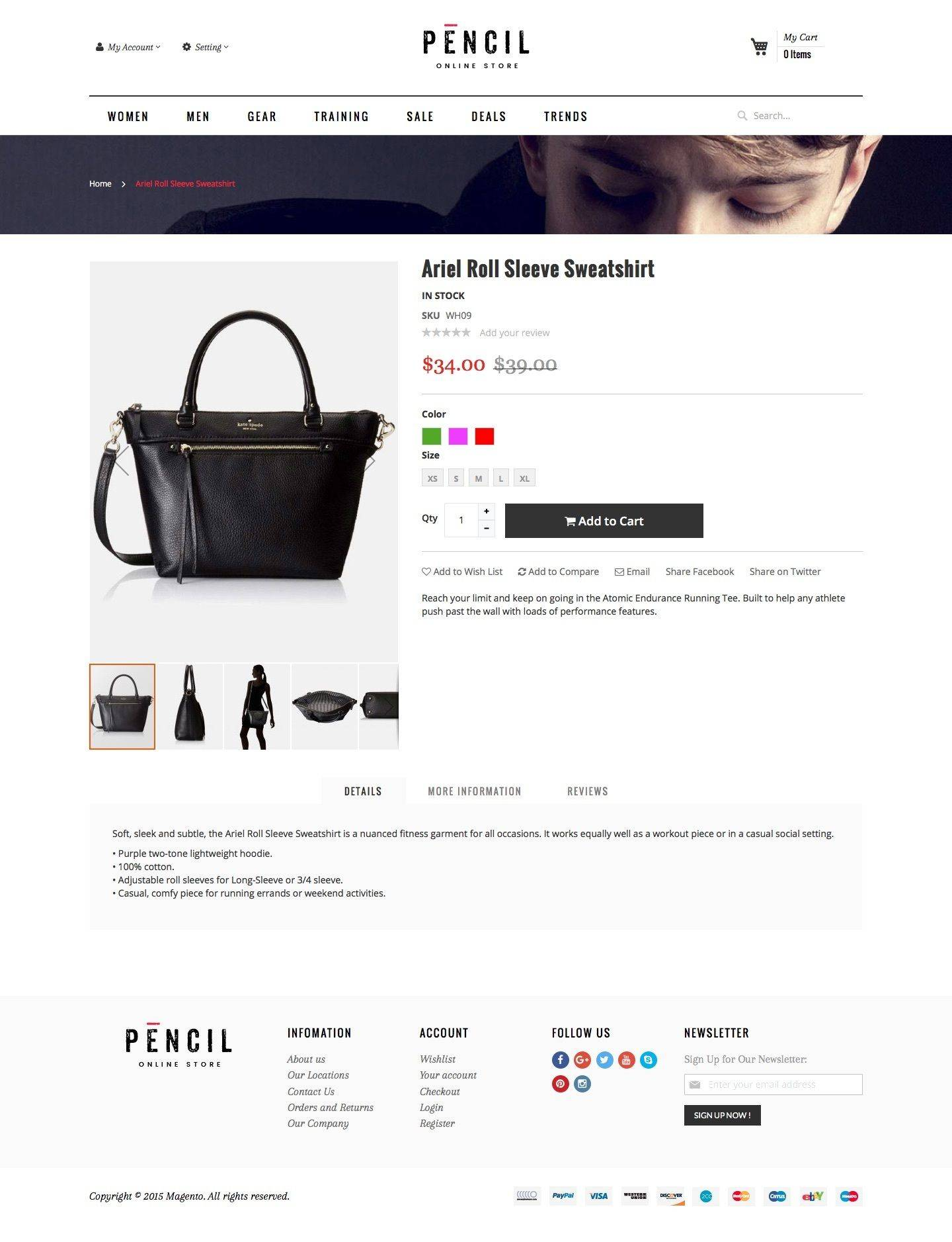 Magento 2 Responsive Template