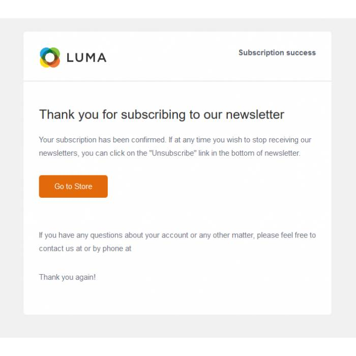 Magento Community Email Templates