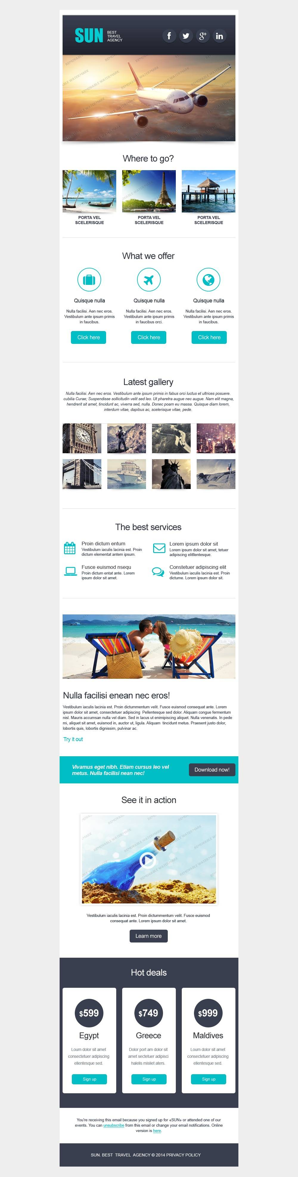 Magento Newsletter Templates Free Download