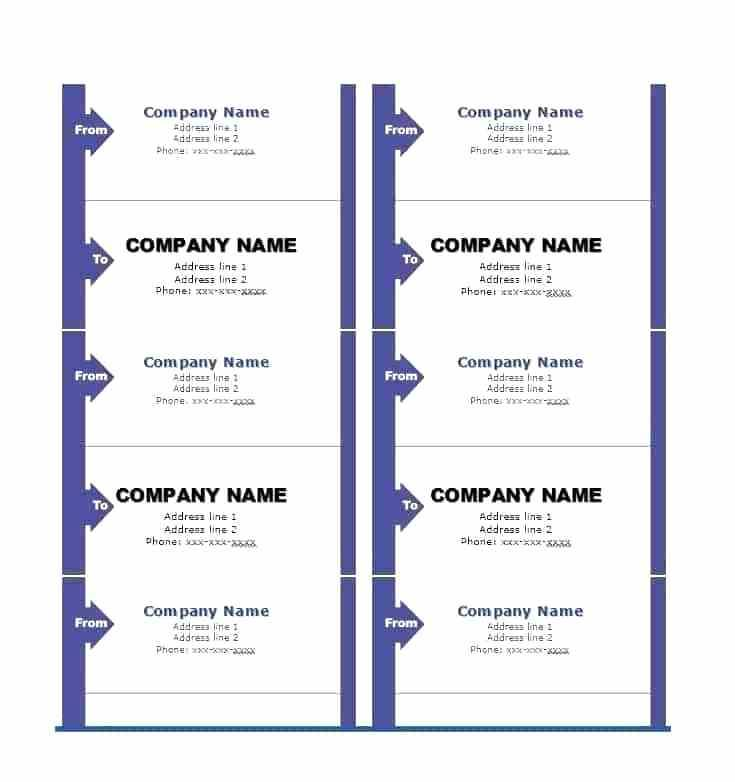 Mail Merge Labels Template Word 2010