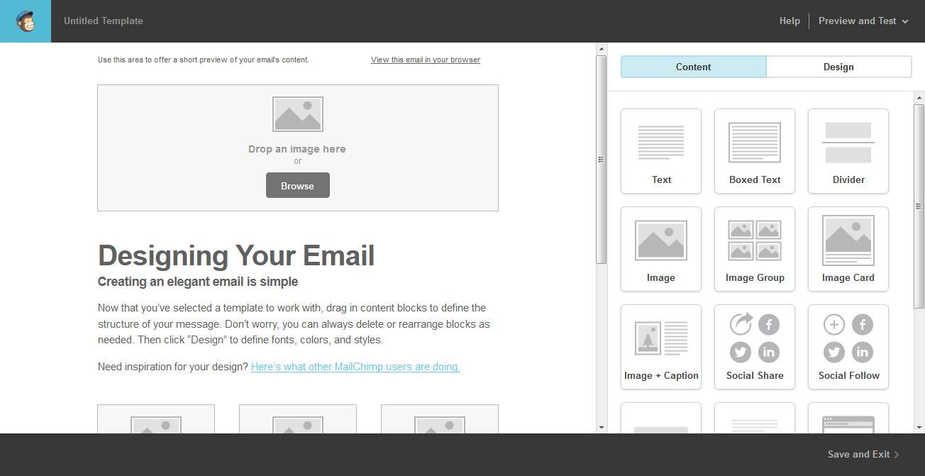 Mailchimp Newsletter Template Examples