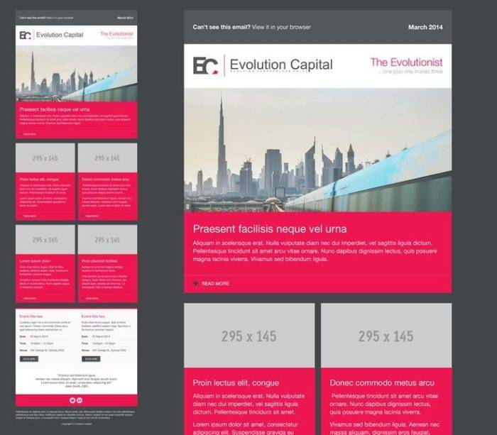 Mailchimp Real Estate Templates
