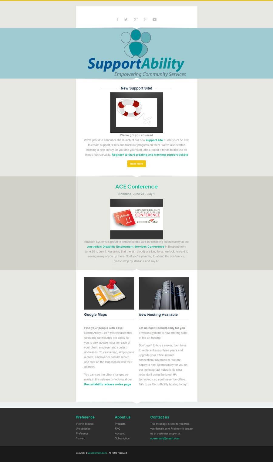Mailchimp Responsive Newsletter Templates