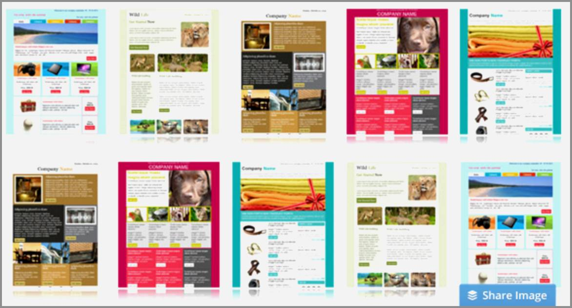 Mailchimp Responsive Templates Free