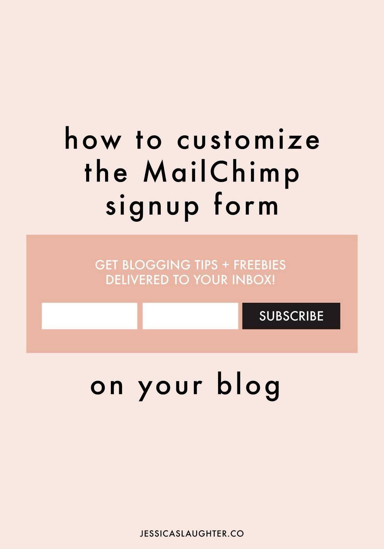 Mailchimp Template Custom Font