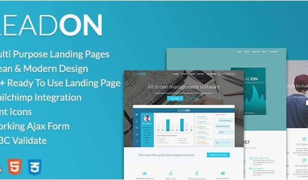 Mailchimp Templates Landing Page