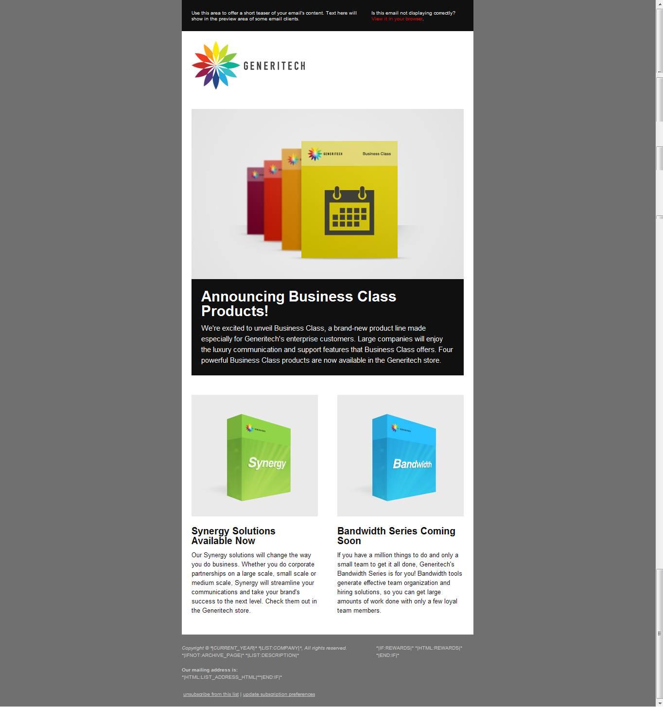 Mailchimp.com Templates