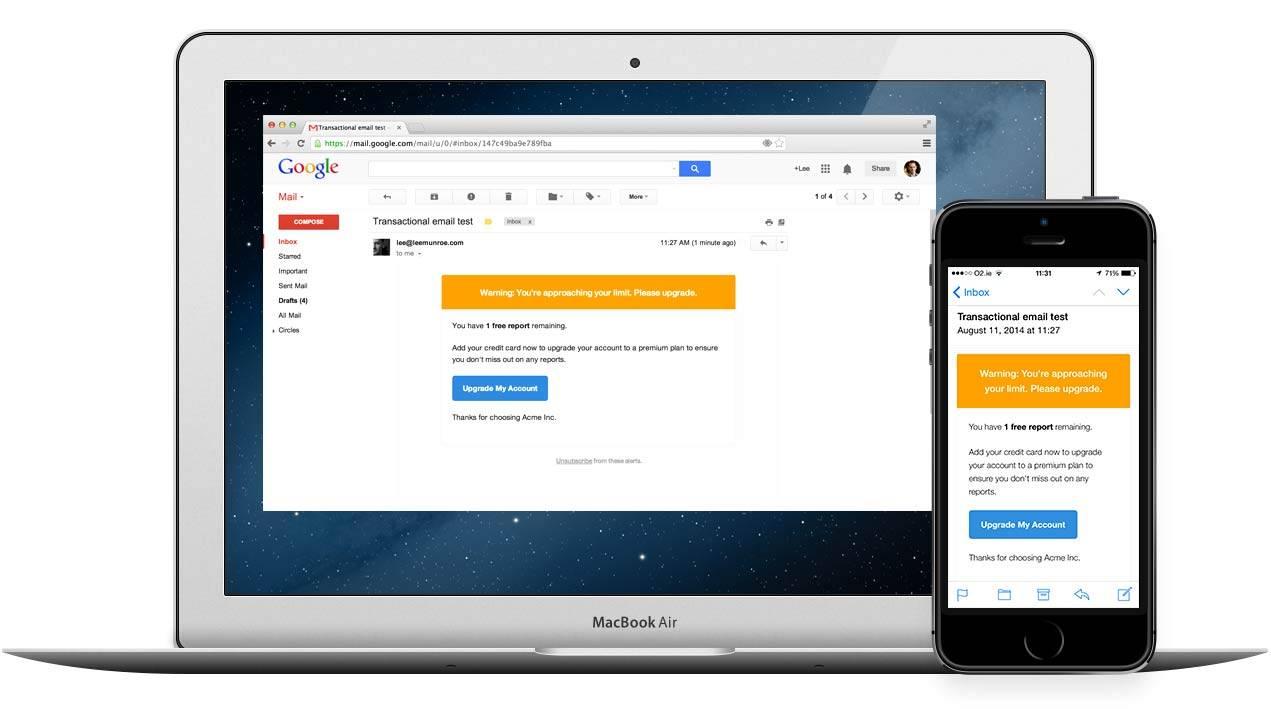 Mailgun Transactional Email Templates