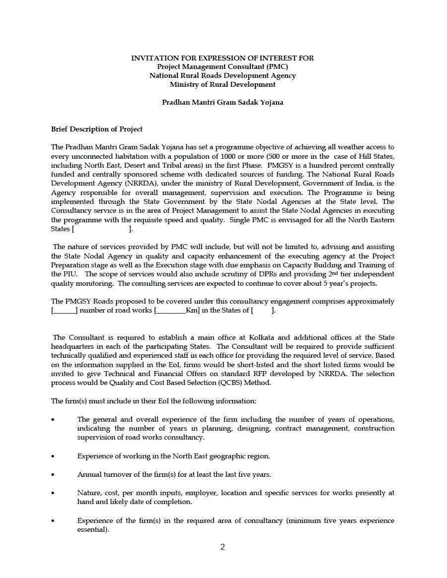 Management Consulting Contract Template