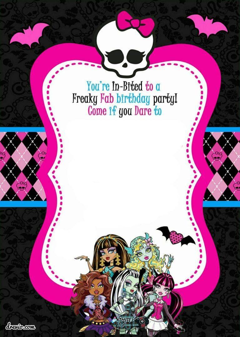Mardi Gras Birthday Invitation Template Free