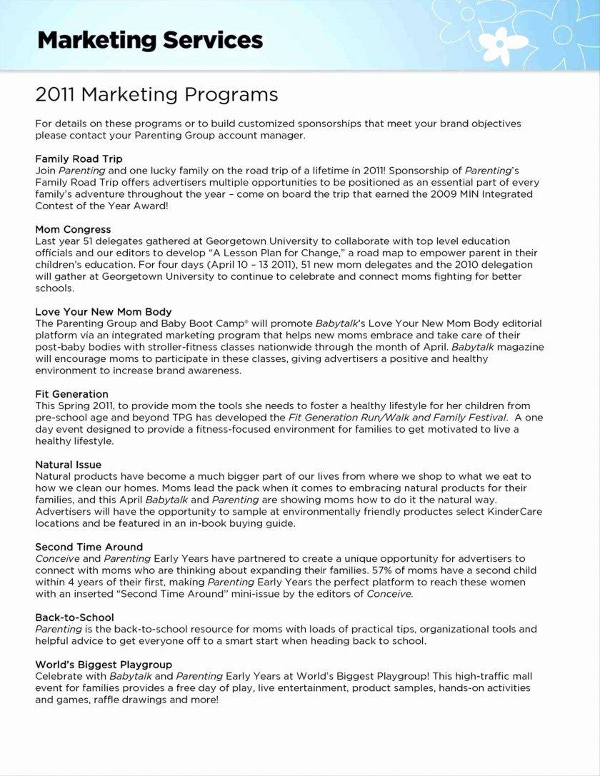 Marketing Consulting Proposal Template Free