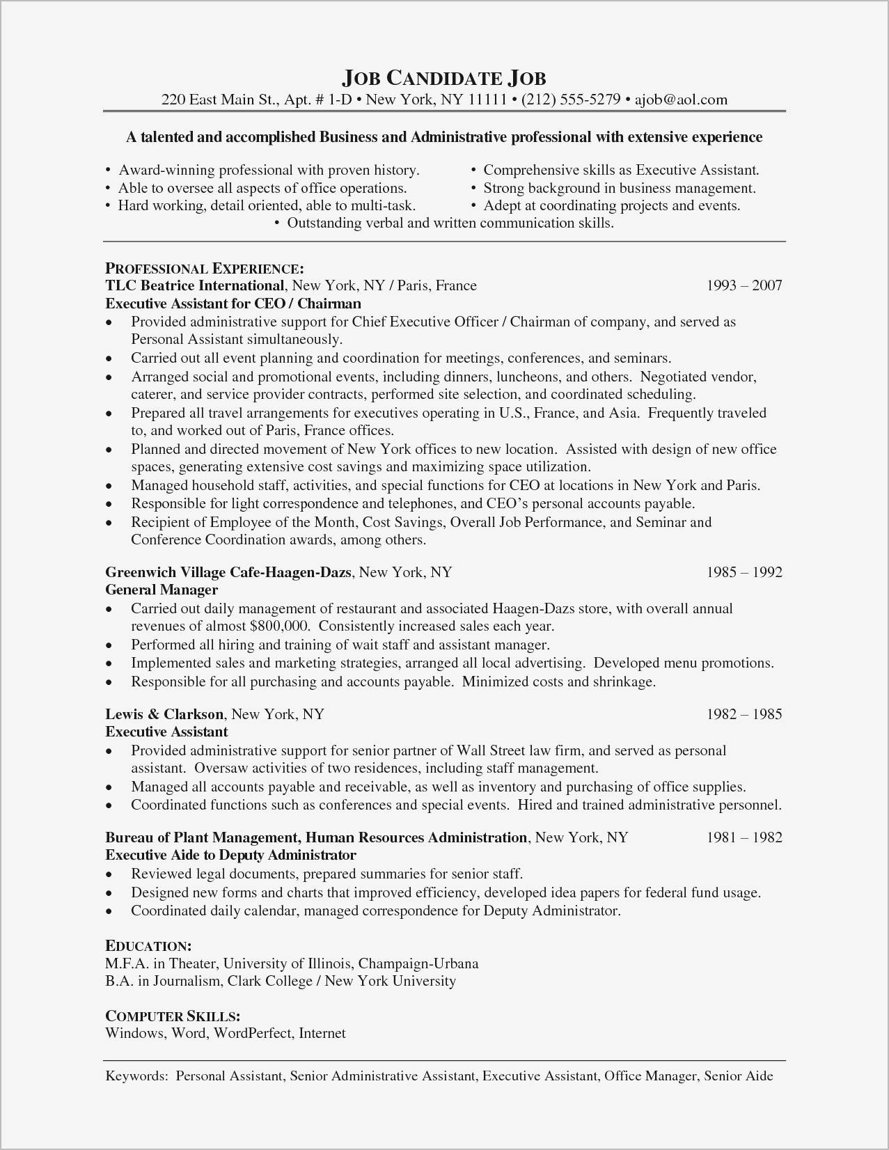 Marketing Director Resume Templates