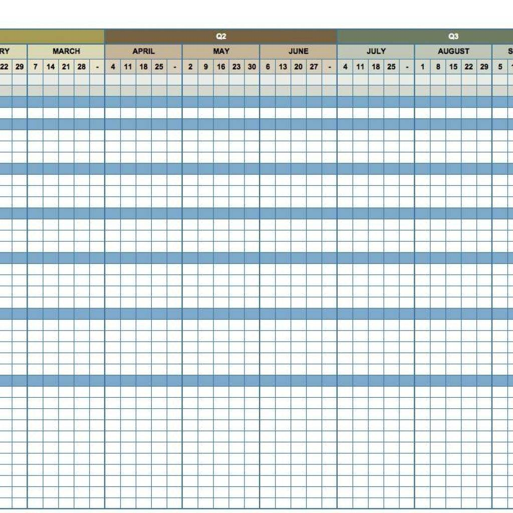 Marketing Plan Template Excel Free