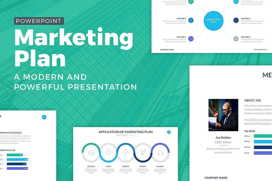 Marketing Plan Template Free Powerpoint
