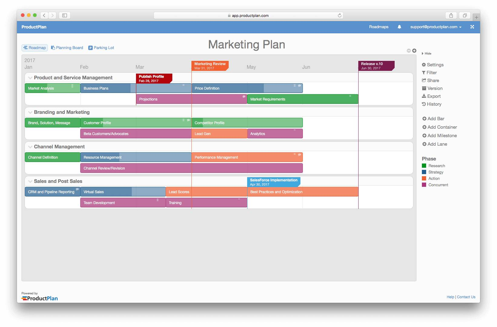 Marketing Product Launch Plan Template
