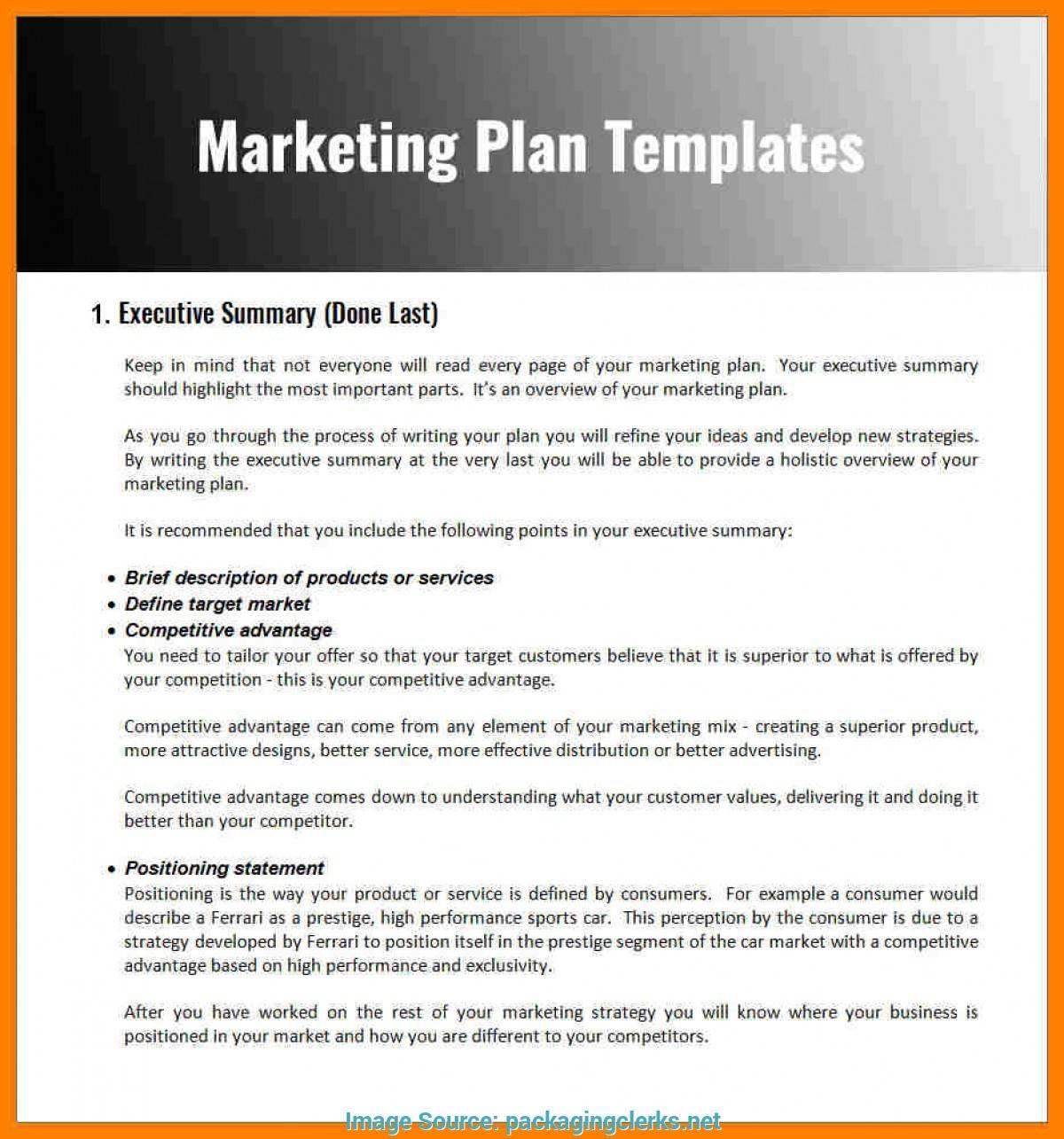 Marketing Proposal Example Pdf
