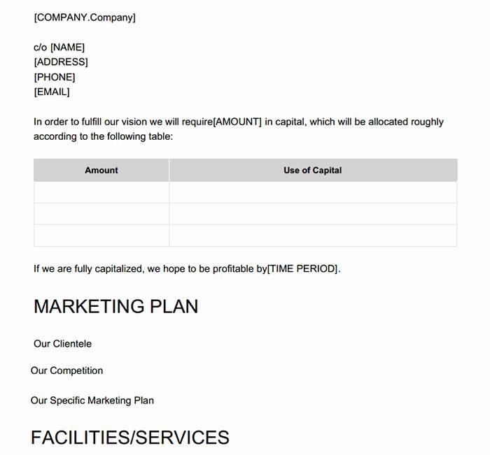 Marketing Proposal Template Canva