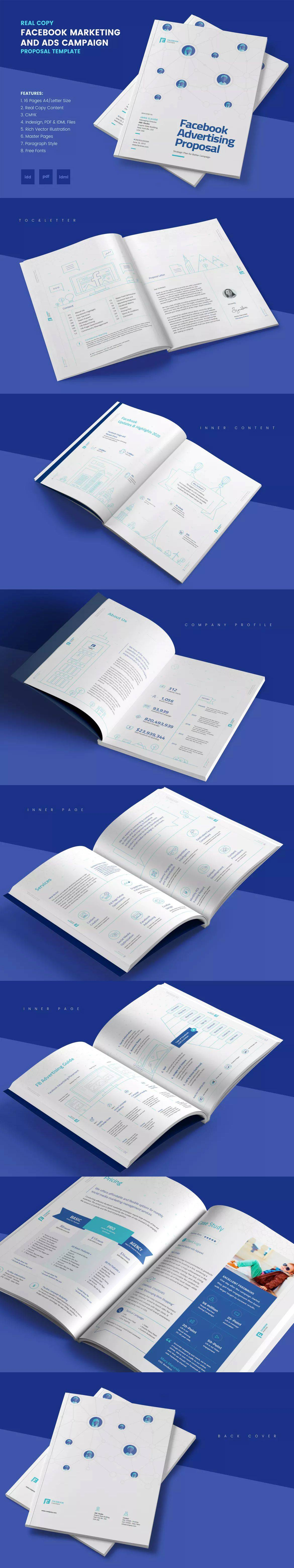 Marketing Proposal Template Indesign