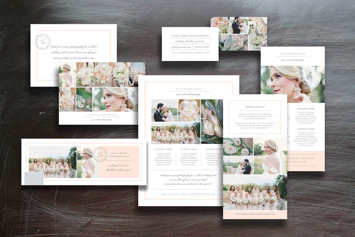 Marketing Tri Fold Template For Photographers