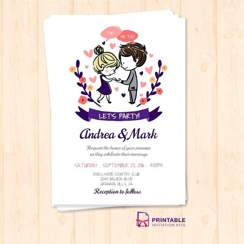 Marriage Invitation Templates India