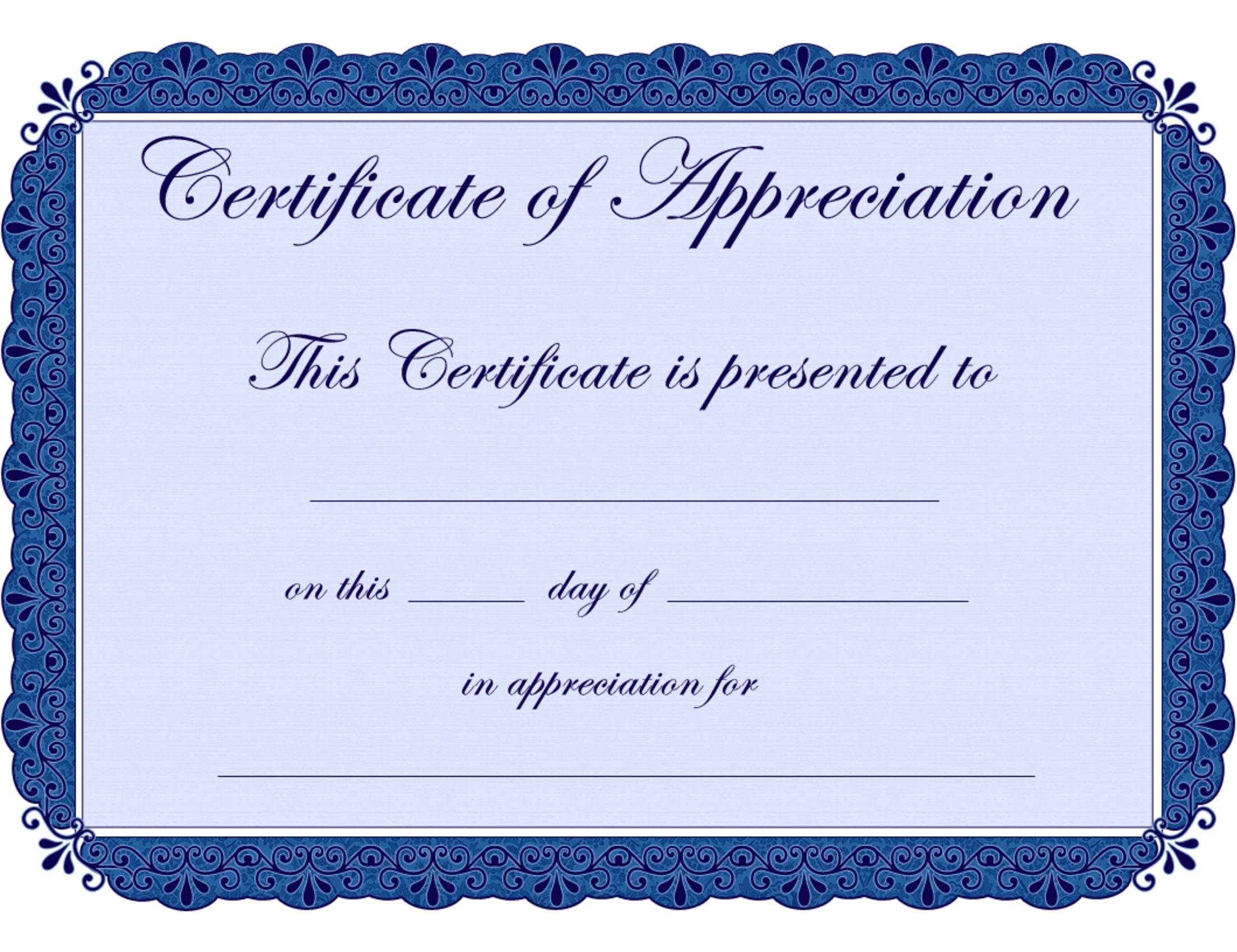 Martial Arts Printable Certificates