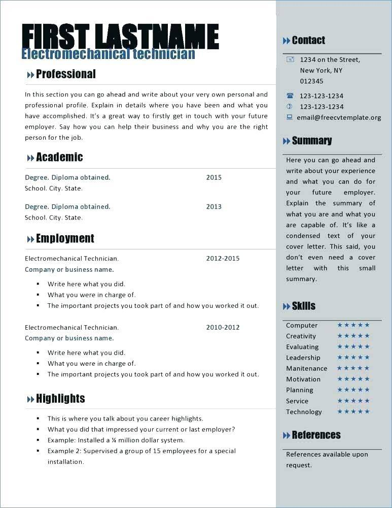Master Hair Stylist Resume Template