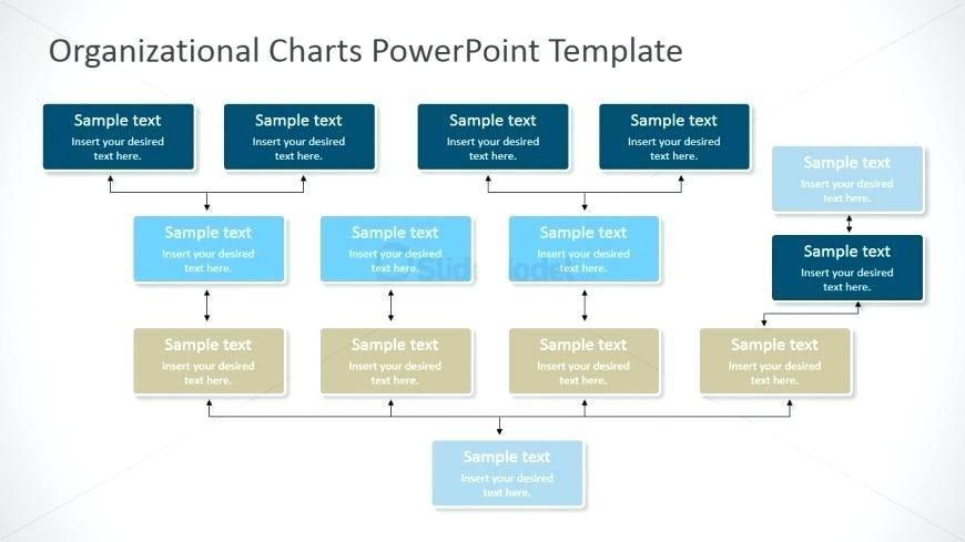 Matrix Org Chart Ppt Template