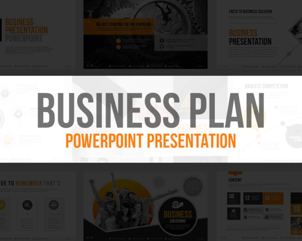 Maxpro Business Plan Keynote Presentation Template Free