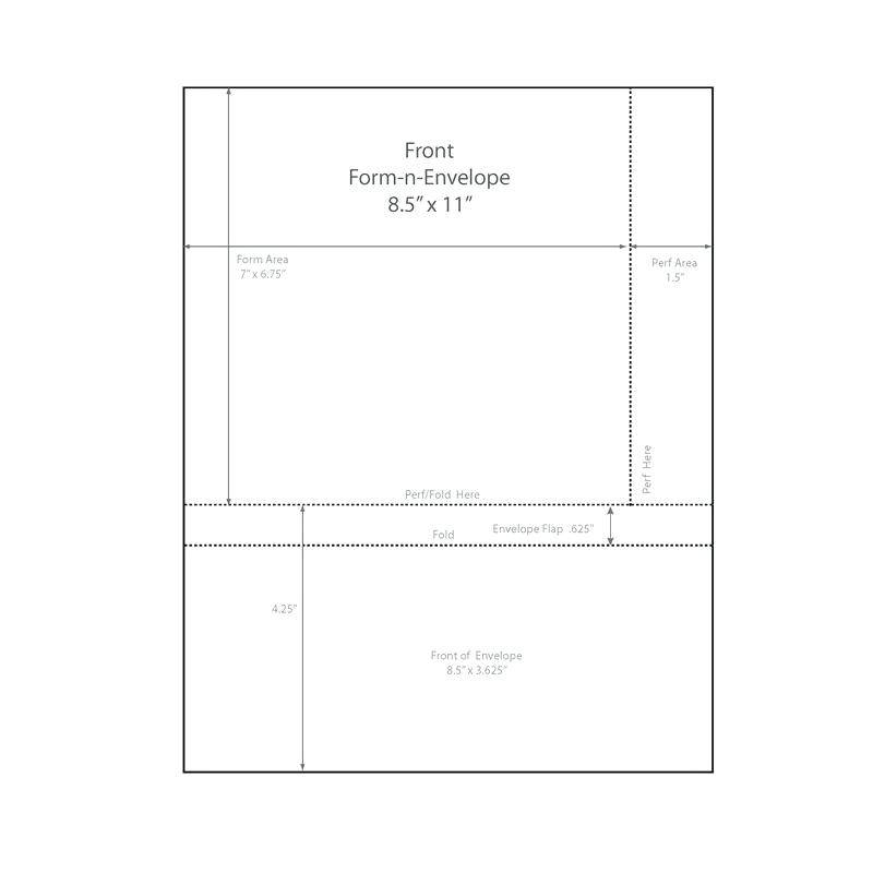 Mead Envelopes Template